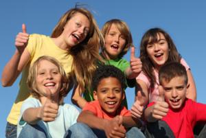 Kids who give